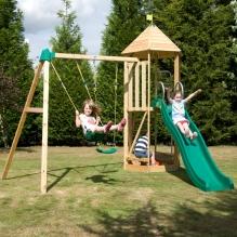 TP Castlewood wooden climbing frame